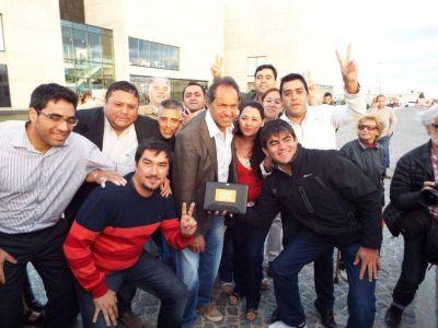 """La """"Ola Naranja La Rioja"""" trabaja en la próxima visita de Scioli a la Provincia"""