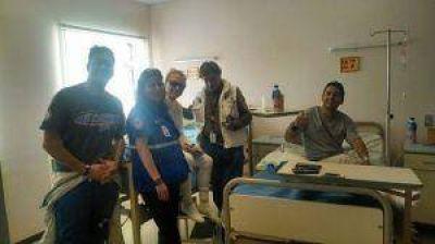 Dakar 2015: Trasladan a JP Sisterna a San Juan