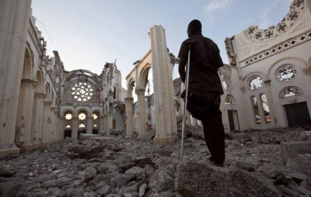 Francisco aboga por una recontrucción verdadera en Haití