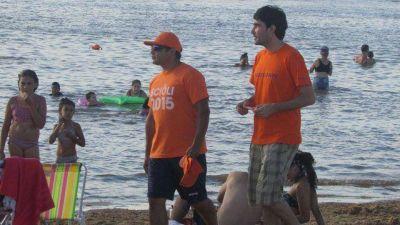 Las remeras de Scioli llegaron al balneario de Paraná