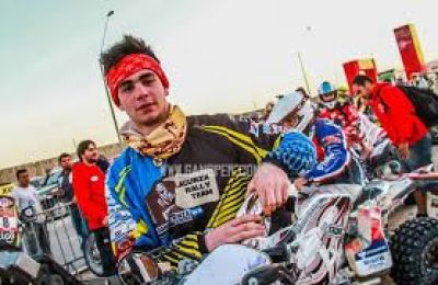 Jorge Lacunza se retraso en la s�ptima etapa del Dakar