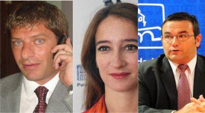 Javier David, Irene Soler y Gustavo Serralta �los  Espartas del Isismo?