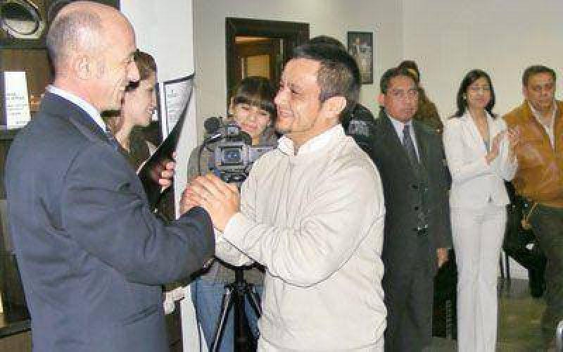 Cotillo anunció obras por 3 millones de pesos
