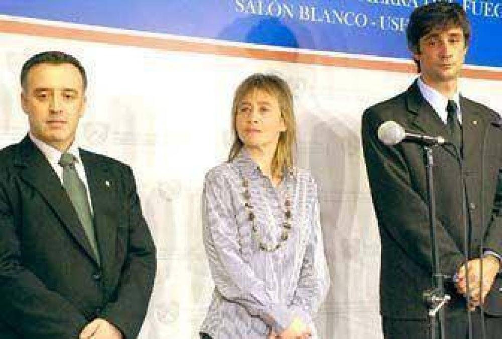 Ríos tomó juramento a su tercer Ministro de Economía