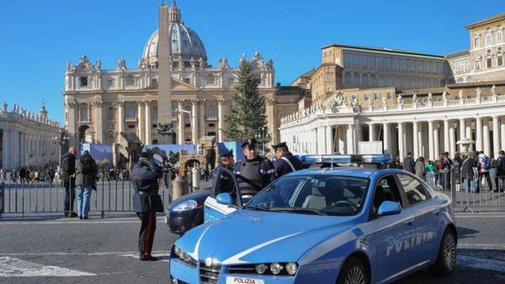 Máxima alerta en el Vaticano por temor a un atentado