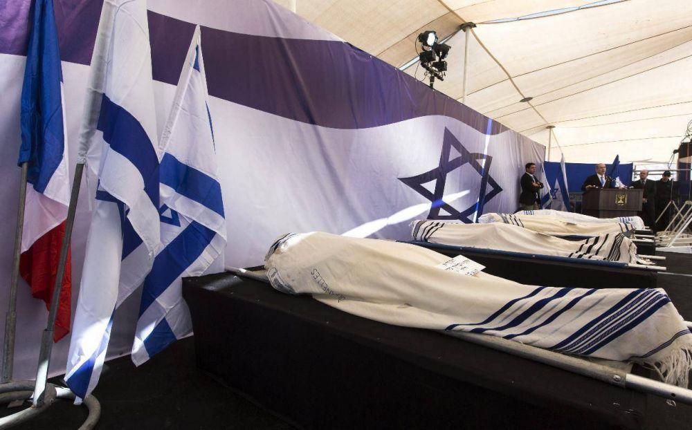Israel cobrará 50.000 dólares por el entierro de las cuatro víctimas del atentado de París