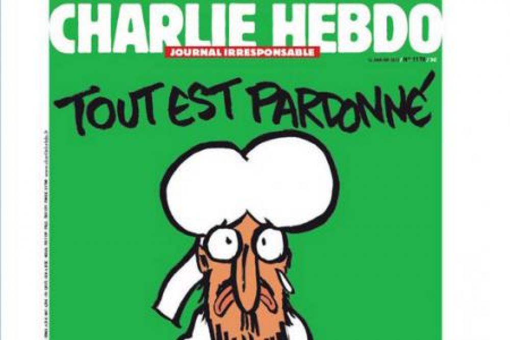 Charlie Hebdo vuelve a aparecer con Mahoma en su portada