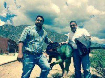 En Sanagasta, Jalil delinea el armado del FR junto a José Aparicio