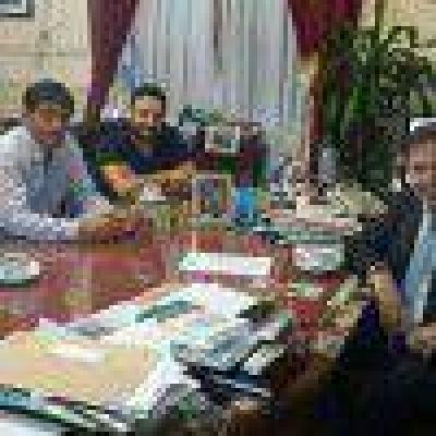 Casino: reunión entre concejales y Rodríguez
