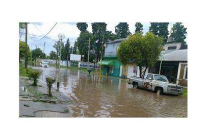 El temporal causó inconvenientes en distintos puntos de la provincia pero no hubo evacuados
