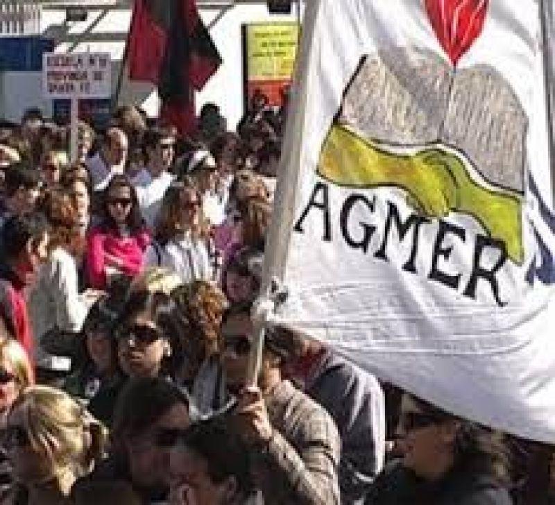 Agmer bajará a las bases una serie de propuestas para el reclamo salarial