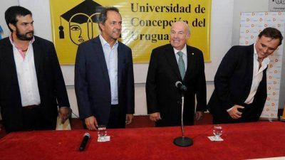 Erro confirmó la llegada de Scioli a Gualeguay