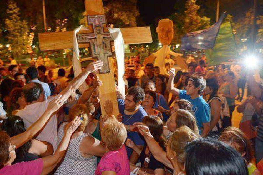 La Cruz Misionera renueva la esperanza en el corazón de jóvenes santiagueños