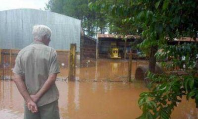 Capioví se declaró en emergencia tras los destrozos de la crecida