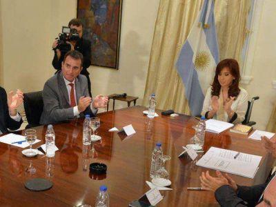 Pérez tras la reunión con Cristina: