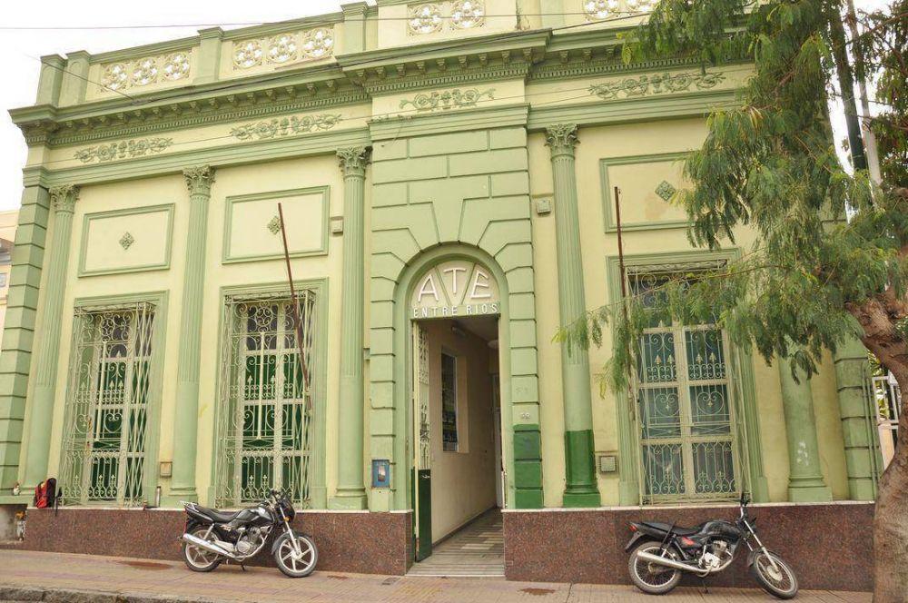 ATE Entre Ríos celebra los 90 años del sindicato en estado de alerta