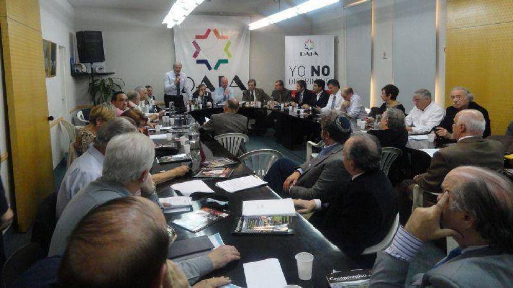 La DAIA convocó a una reunión extraordinaria de presidentes tras la denuncia de Nisman