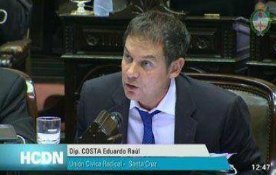 Costa y Labado los legisladores santacruceños con más faltas