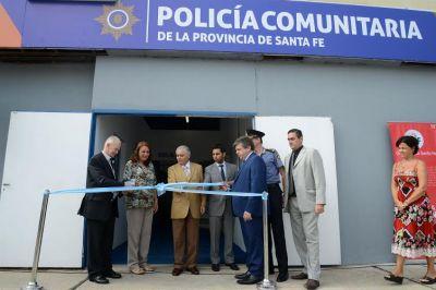 Pusieron en marcha la Policía Comunitaria en un sector de los barrios Ludueña e Industrial