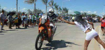 Se acab� la espera para los fan�ticos: llega el Dakar a Las Termas de R�o Hondo
