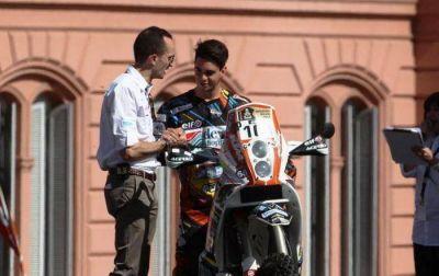 D�kar: Jorge Lacunza abandon� la competencia