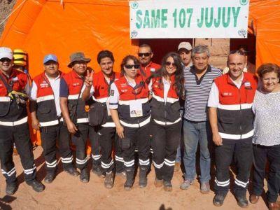 Gran operativo del SAME durante el Dakar