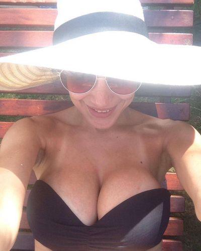La selfie hot de Andrea Rincón