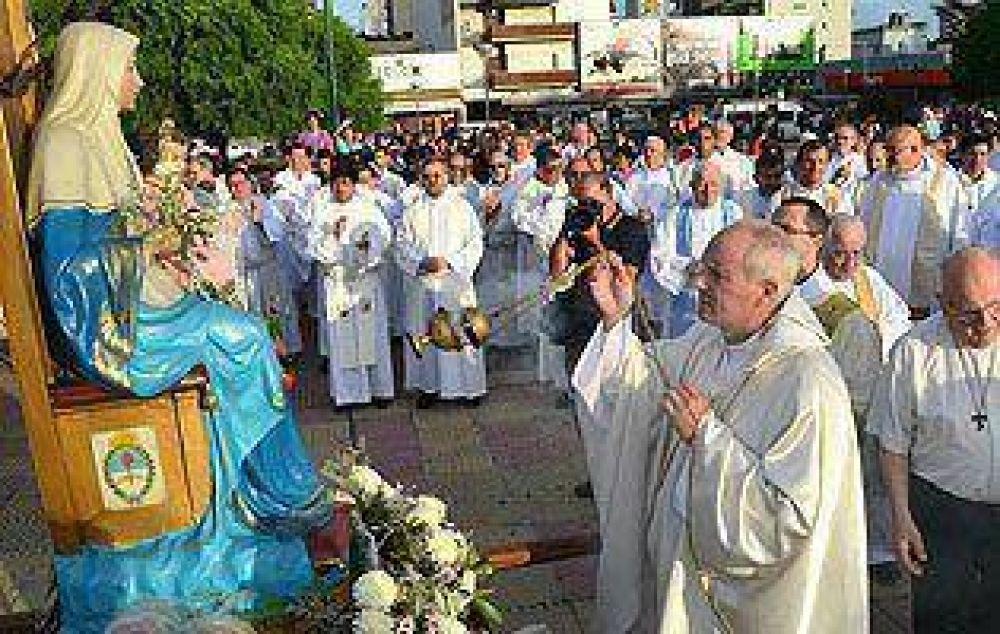 Lugones encabezará la Fiesta Patronal de la Diócesis