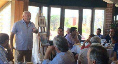 Niembro empezó a hacer campaña por el PRO en la Costa