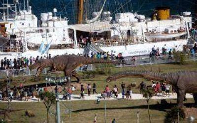 La Fragata Libertad abre sus puertas al público en Mar del Plata
