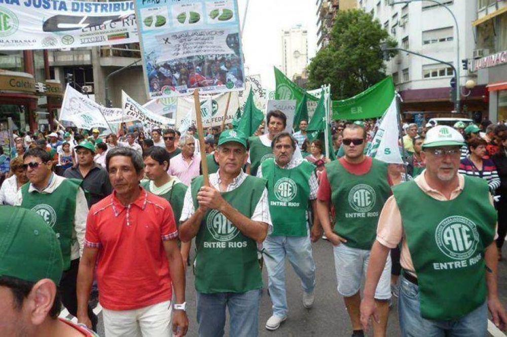 "ATE solicitó la ""apertura urgente"" de paritarias para Salud"