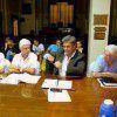 Reunión en el HCD por el Complejo Casino