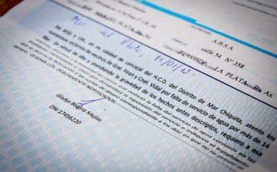 La concejal Gladys Mejías envió una carta documento a ABSA
