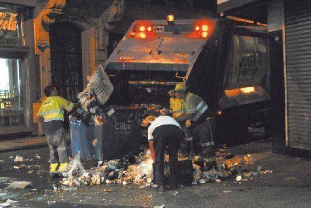 El macrismo privatizó el control de la recolección de basura