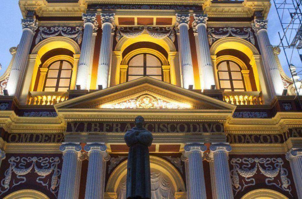 Basílica San Francisco: con un acto inauguran parte de la obra