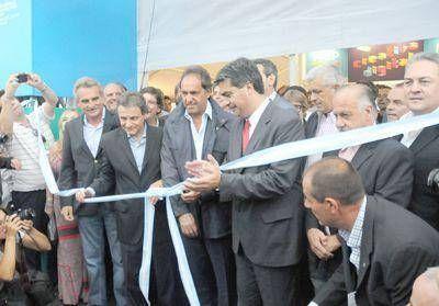Con fuerte presencia oficialista, se inauguró la ExpoIndustria
