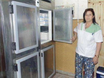 Incorporaron equipamiento para conservar las vacunas que se distribuyen en la ciudad