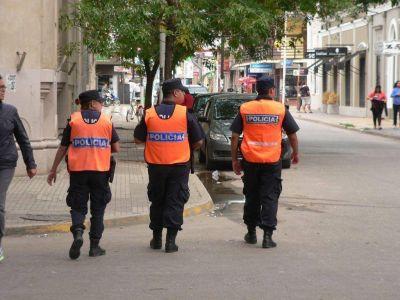 Policías del Operativo Sol recorren las calles de la ciudad