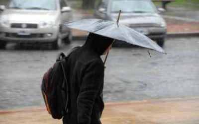 Alerta meteorológico por tormentas, ráfagas y granizo