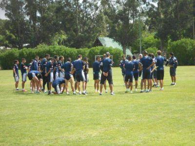El día de la práctica de fútbol
