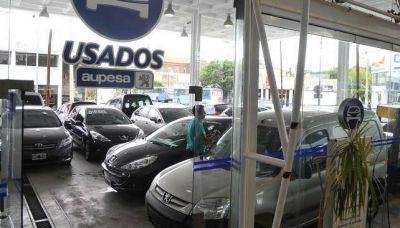Cae un 11,2% la venta de autos usados