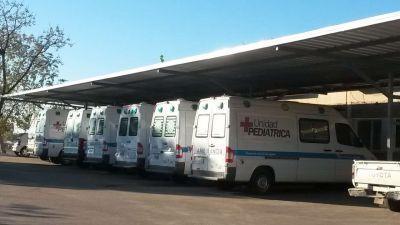 El ministro Perera gestion� nuevas ambulancias para hospitales de la provincia
