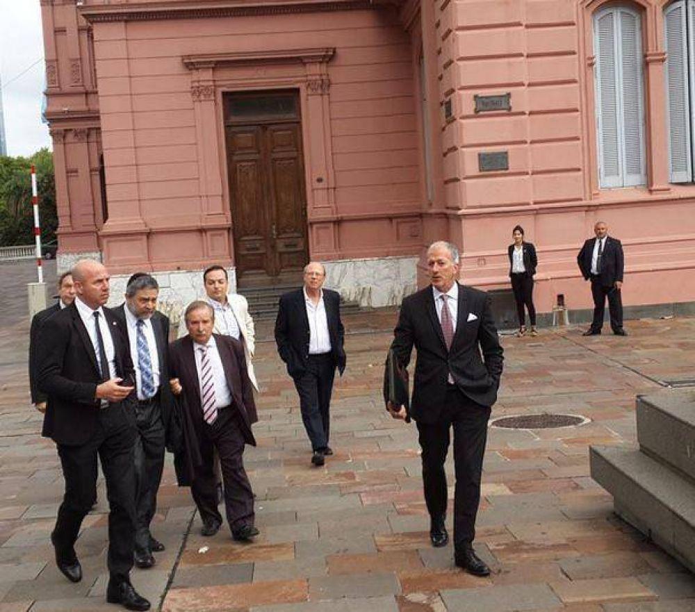 El Gobierno recibió a la AMIA y la DAIA tras la muerte de Nisman