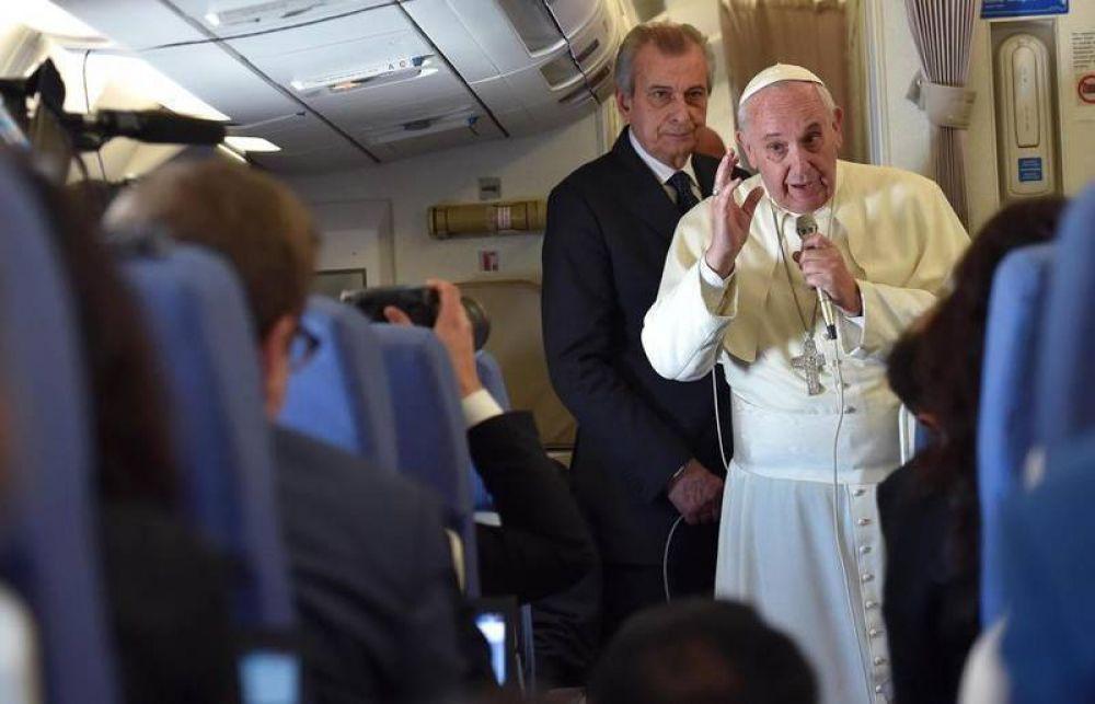 El Papa: «Así trataron de corromperme»