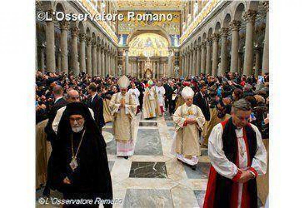 El Papa Francisco preside este domingo la oración por la unidad de los cristianos