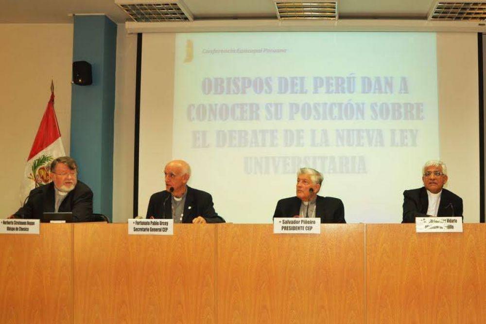 Perú: Los obispos preparan un mensaje contra la corrupción y la violencia