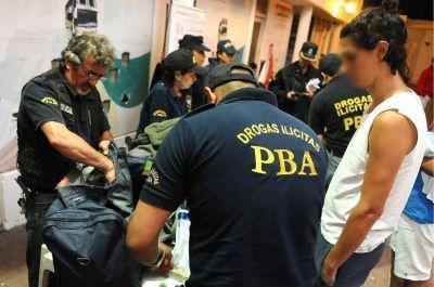 """Operativo por drogas en """"Mute"""": 37 personas detenidas"""
