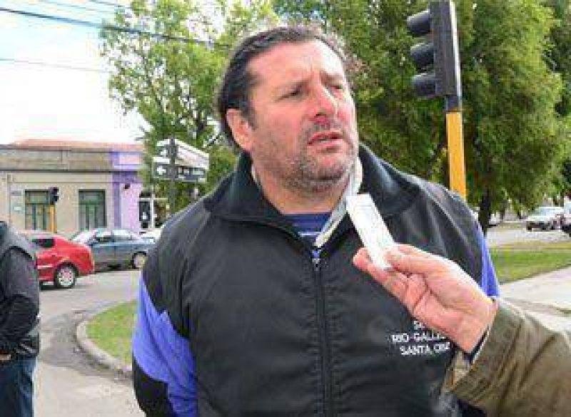 UOCRA contin�a con ocupaci�n en R�o Gallegos