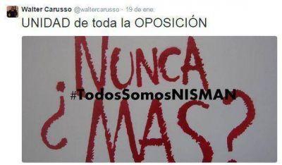 Dispar referencia de la dirigencia política de San Martín a la muerte de Nisman