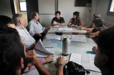 """Ciclovías: reunión de trabajo entre funcionarios y """"Santa Fe en Bici"""""""
